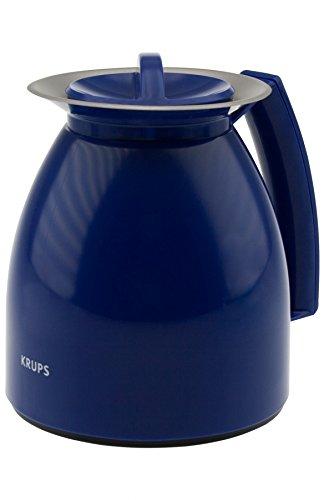 Krups F2821410 CompacTherm 8 Isolierkanne Ersatzkanne Blau 1 Liter (N21)