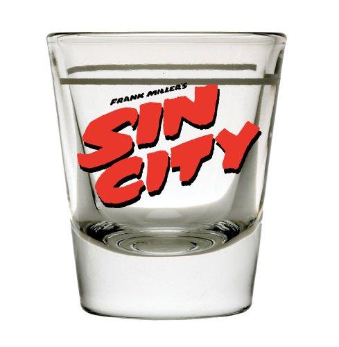 Diamond Select Toys Sin City Movie Logo Shot Glass