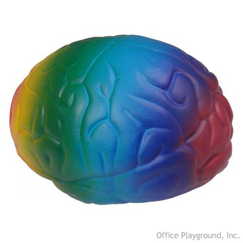 Brain Stress Toy - Rainbow - 1