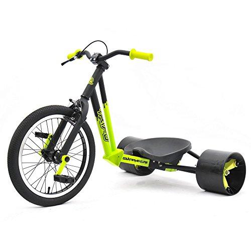 Triad Counter Measure Kids Drift Trike - Yellow/Black