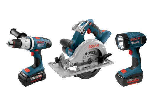 Bosch CPK31-36 36-Volt Circular Saw/Hammer Drill Driver/Flashlight Combo Kit