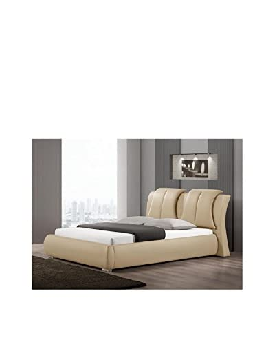 Baxton Studio Malloy Upholstered Bed