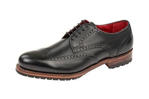 gordon-bros-da-uomo-levet-5199-a-lace-up-semi-shoe-con-cintura-nero-black-black-40