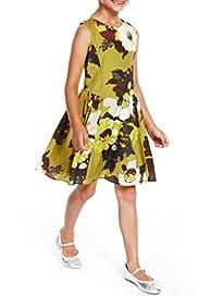 Autograph Floral Dress [T77-6189S-Z]