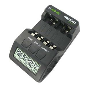 BC-800 Schnell-Ladegerät mit LCD-Display und Entladefunktion