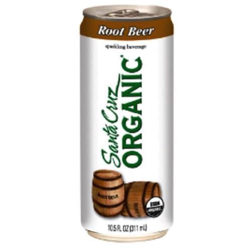 Amazon.com : Santa Cruz Organic Sparkling Beverage, Root Beer, 10.5