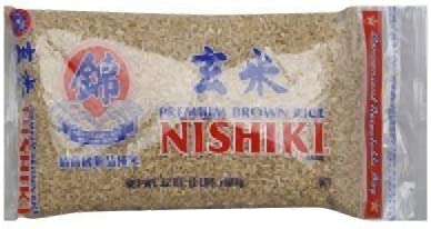 Nishiki Brown Rice 12 Packages Ea 2 LB Pack of 9