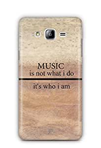 YuBingo Music is Who I am Mobile Case Back Cover for Samsung Galaxy On 7 Pro