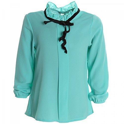 madchen-bluse-shirt-pullover-blusen-kleid-longsleeve-sweatshirt-t-shirt-20264-farbemintgrungrosse116