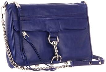 Rebecca Minkoff MAC Convertible Cross-Body Handbag,Royal,One Size