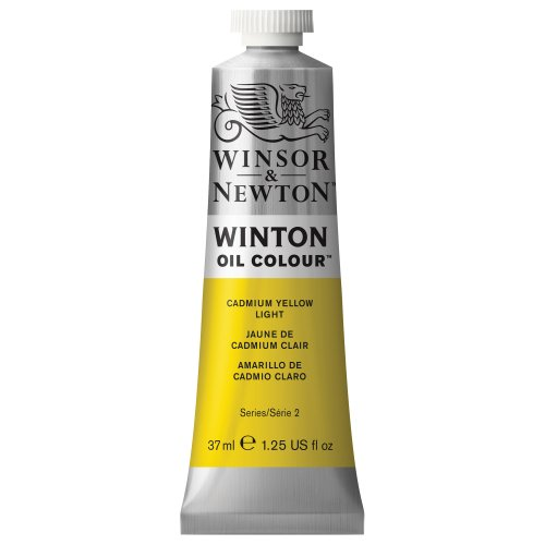 Winsor & Newton Winton 37-Milliliter Oil Paint, Cadmium Yellow Light (Cadmium Yellow Oil Paint compare prices)
