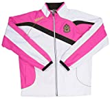 (ウィルソン)wilson Warm Up Jacket WRAJ351 WM White x Magenta XL