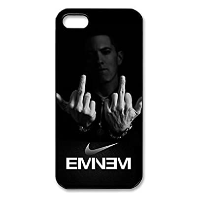 SUUER Eminem iPhone 5 5s Case Rap Singer Protective Custom Hard CASE for iPhone 5 5s Durable Case Cover