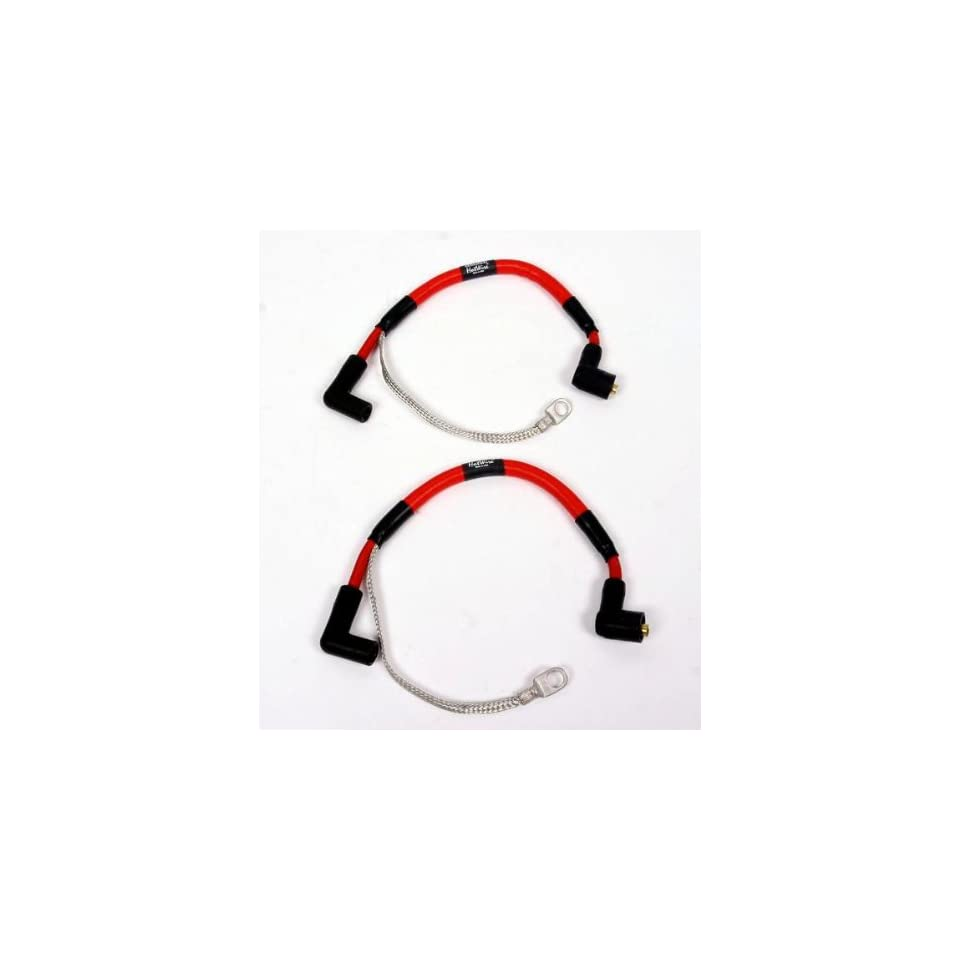 Nology Hotwires Performance Spark Plug Wires Red Standard ... on magnum plug wires, spark plug wires, ngk plug wires,