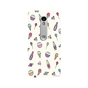 Moto G3 Perfect fit Matte finishing Lifestyle Graffiti & Illustrations Mobile Backcover designed by Aaranis(White)