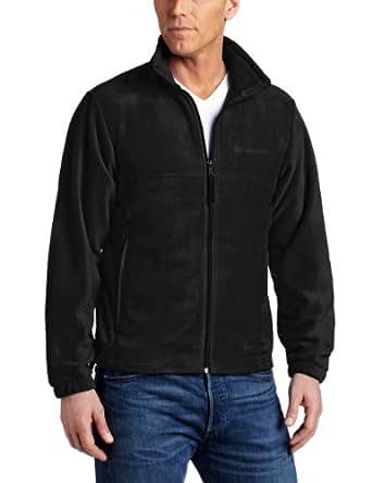 Columbia Big & Tall Steens Mountain Fleece Jacket (1XTALL, Black)