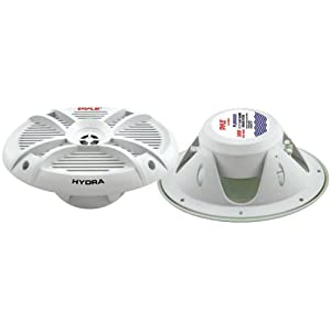 PYLE PLMRX69 300 Watts 6-Inch x 9-Inch 2 Way Marine Speakers by Pyle