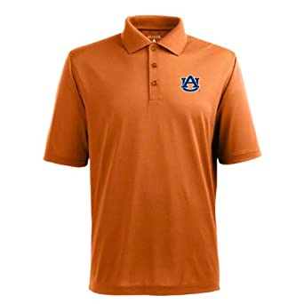 Click here to buy NCAA Auburn Tigers Pique Xtra Lite Desert Dry Polo Mens by Antigua.