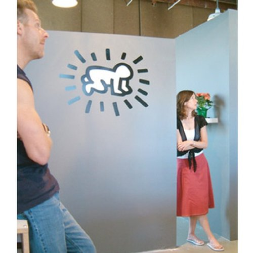 blik Radiant Baby Wall Stickers by Keith Haring - 1
