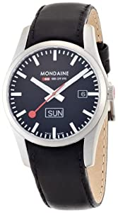 Mondaine Retro Gents Stainless Steel Day-date
