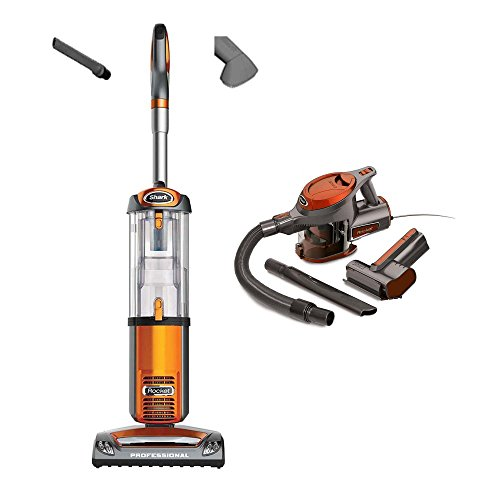 Shark Rocket Bagless Vacuum + Rocket Portable Vac, Orange, (Certified Refurbished) (Shark Rocket Filter Nv480 compare prices)