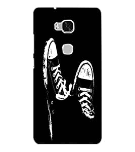HUAWEI HONOR 5X SHOES Back Cover by PRINTSWAG