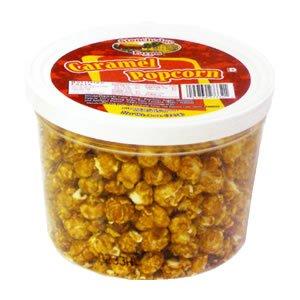 アメリカのキャラメルでコーティングした甘くて人気なポップコーン。輸入菓子