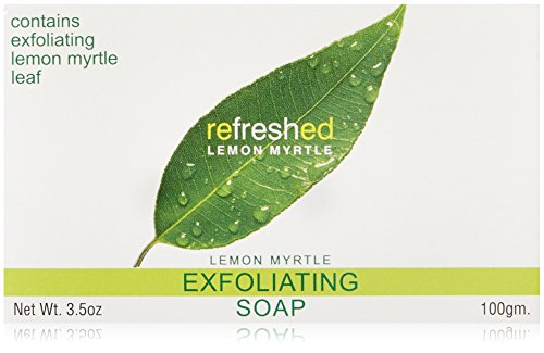 Tea Tree Therapy Lemon Myrtle Soap Exfoliating, 3.5 Ounce - 1