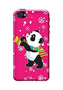 iPhone 4s Cover ,Premium Quality Designer 3D Printed Lightweight Slim Matte Finish Hard Case Back Cover for Apple iPhone 4s by Tamah