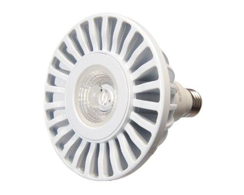Avalon Par38 17 Watt (75 Watt Replacement) 1450 Lumen Led Light Bulb, Cool White 5000K, 40 Degree Light Beam Spread, Dimmable