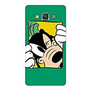 Sneeking Dog Multicolor Back Case Cover for Galaxy Grand 3