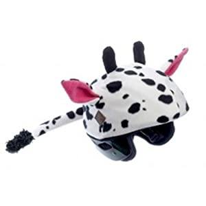 Amazon.com : Cow Helmet Cover - One Size Fits All Kids Sports Helmets