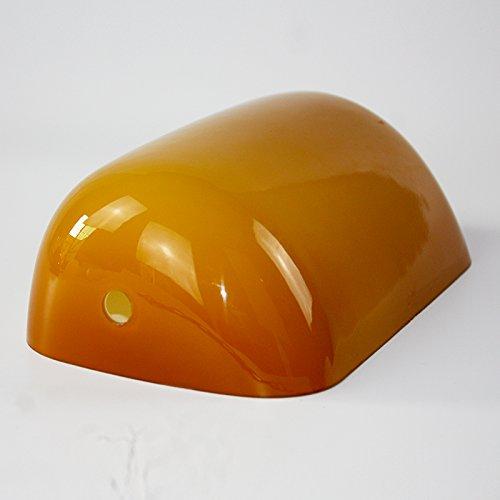Newrays replacement amber glass bankers lamp shade cover for banker newrays replacement amber glass bankers lamp shade cover for banker desk lamp aloadofball Choice Image