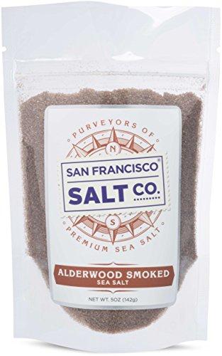 Alderwood Smoked Sea Salt (5oz Pouch Fine Grain) (Smoked Salt Coarse compare prices)