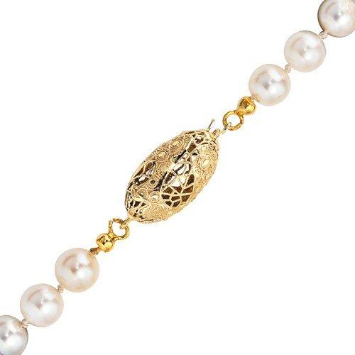 Goldverschluss Schließe aus 585 Gold Gelbgold mit Muster für Damen bestellen