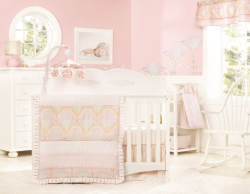 Dena 4 Piece Crib Set, Lily (Discontinued by Manufacturer) - 1