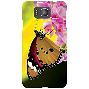 Samsung Galaxy Alpha G850 Back Cover - Butterfly Designer Cases