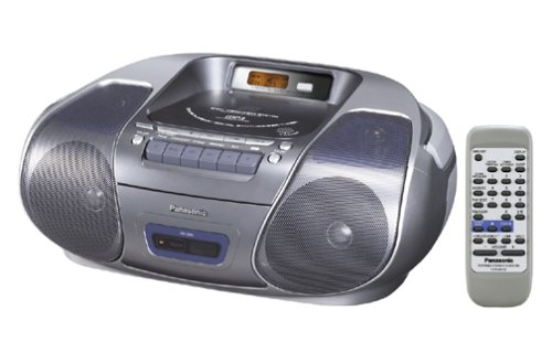 Panasonic RX-D29 CD / Radio / Cassette Boombox with MP3 CD Playback