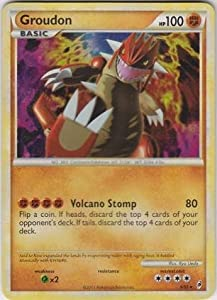 Pokemon - Groudon (6) - Call Of Legends - Holo