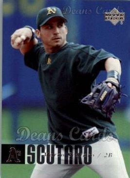 2006 Upper Deck # 734 Marco Scutaro Oakland Athletics (Baseball Card) Dean's Cards 8 - NM/MT