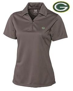 Green Bay Packers Women's Polo - Cutter & Buck Ladies Drytec Genre Polo Circuit by Cutter&Buck