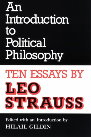 An Introduction to Political Philosophy: Ten Essays...