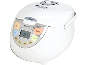 Rosewill RHRC-13002 10 Cup Uncooked Fuzzy Logic Rice Cooker and Food Steamer by Rosewill