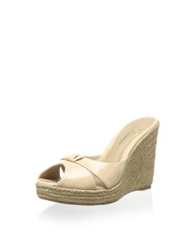 Delman Women's Jaime Espadrille  [Nude Patent]