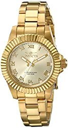 Invicta Women's 16762 Pro Diver Analog Display Swiss Quartz Gold Watch