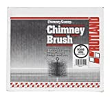 Rutland Inc 10In Round Wire Chimney Brush 16410