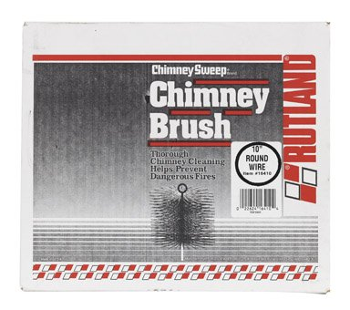Review Rutland Inc 10In Round Wire Chimney Brush 16410