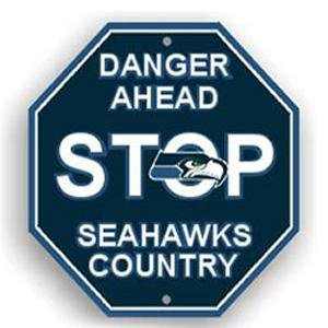 Seattle Seahawks Stop Sign at Amazon.com