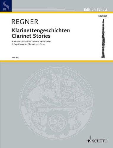 kaufen Klarinettengeschichten: 8 leichte Stücke. Klarinette (B) und Klavier. (Edition Schott)