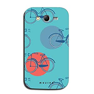 Mozine Cycle Pattern printed mobile back cover for Samsung galaxy grand neo